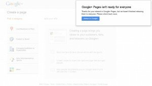 Google+ Business Page Create