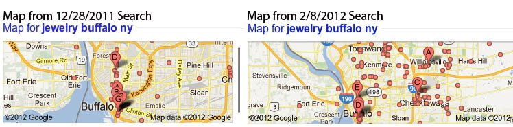 Increased Radius Google Local Search