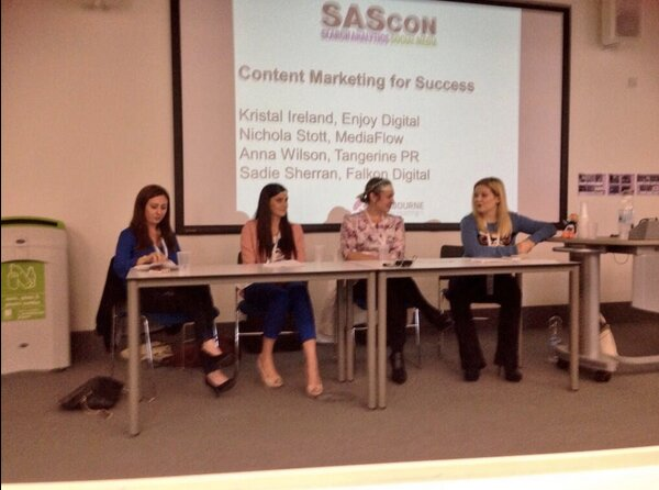 SASCon 2014 Content Marketing for Success